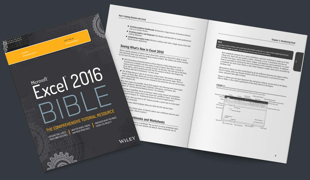 microsoft excel 2016 bible the comprehensive tutorial resource pdf